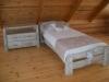 Sendinta ąžuolinė lova