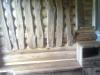 Prieškambario baldai iš ąžuolo medienos , aliejuotas