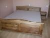 Ąžuolinė lova ,,Elegantiška
