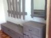 Prieškambario baldai iš ąžuolo medienos , sendintas
